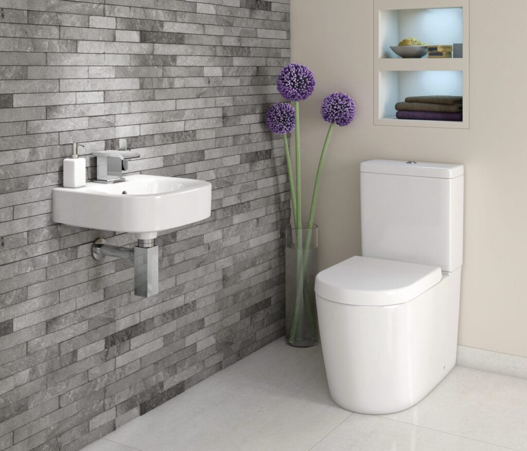 Cloakrooms en suites add real value to your home for Small toilet design